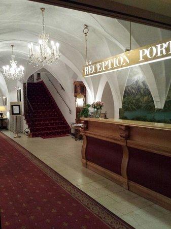 Romantik Hotel Post: Reception