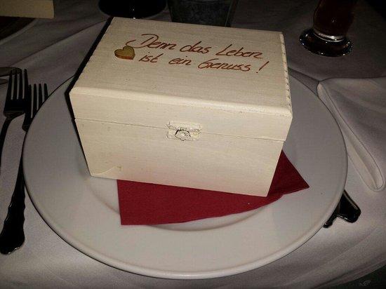 Romantik Hotel Post: Benvenuto al ristorante