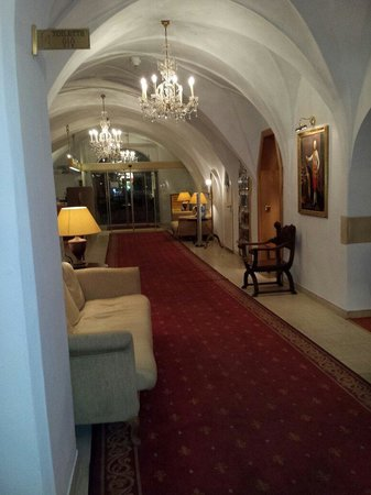 Romantik Hotel Post: Hall
