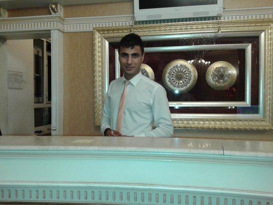 Hotel Ipek Palas: Recepción