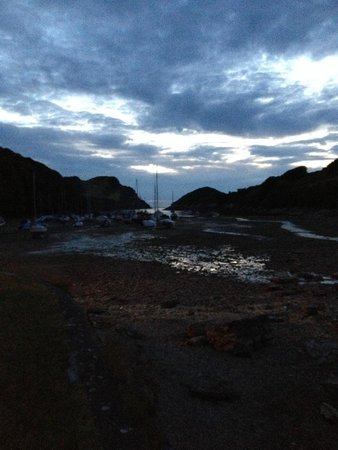 Watermouth Valley Camping Park: Harbour view near campsite