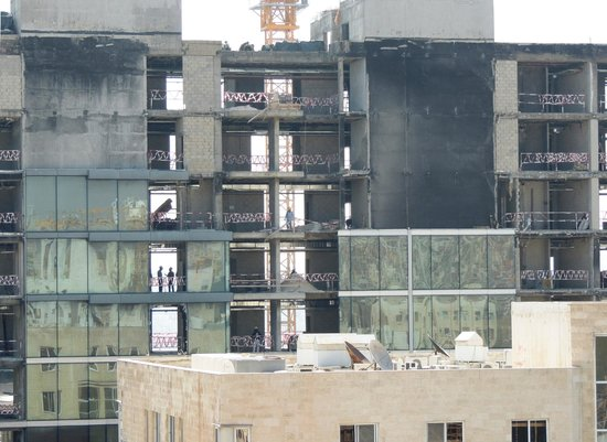 Hisham Hotel: One of the building sites