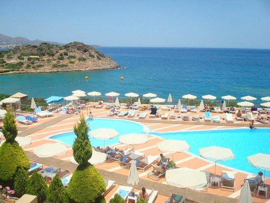 Blue Marine Resort & Spa: θεα απο το δωμάτιο