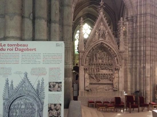 Basilica Cathedral of Saint-Denis: le tombeau de Dagobert
