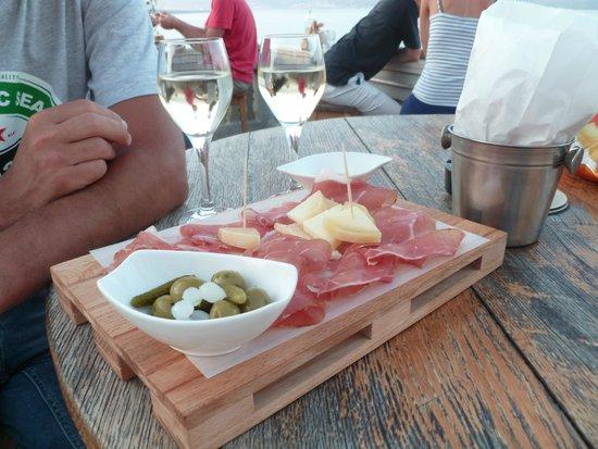 Restaurant Nada : Planche apéritif