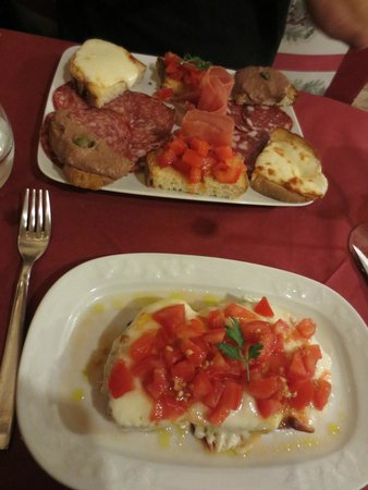 L'Osteria Baccus: Entree's