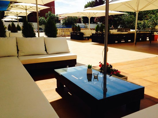 Hotel Nereida: Chill-out