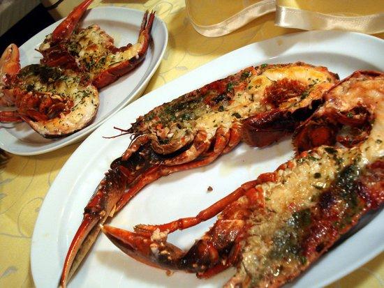 Hotel Puerta Gamboa : Fresh seafood