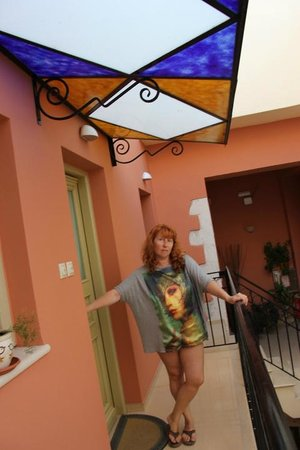 Casa Moazzo Suites & Apartments: Наш балкончик)))