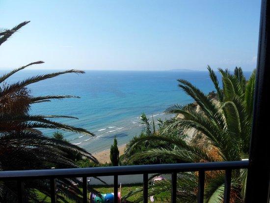 Romanza Hotel: View from balcony