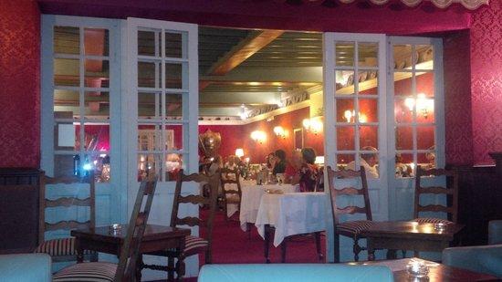 Hotel Eychenne: restaurant