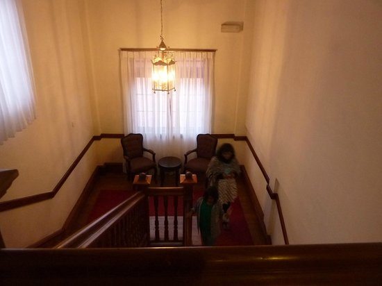 The Grand Hotel: Old staircases