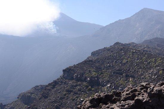 monte Etna seen from monte Ritman, alt 2000m.