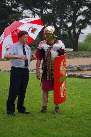 Segontium Roman Fort: support