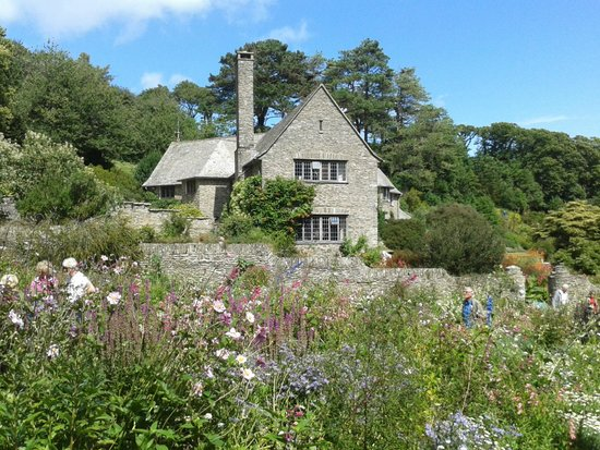 Coleton Fishacre: The house from the garden.