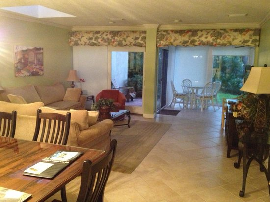 Villas of Amelia Island Plantation : Living room