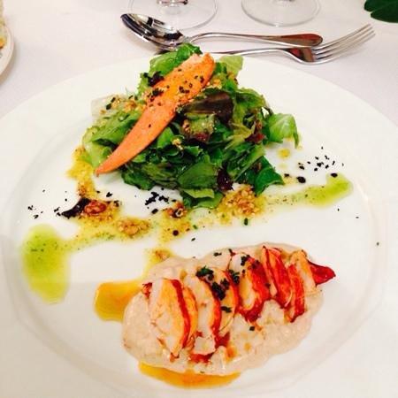 ensalada de bogavante restaurante Matteo