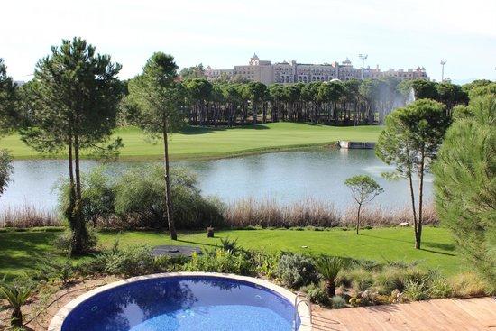 Maxx Royal Belek Golf Resort: Вид из номера (вилла)