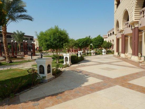 SENTIDO Mamlouk Palace Resort: Garden