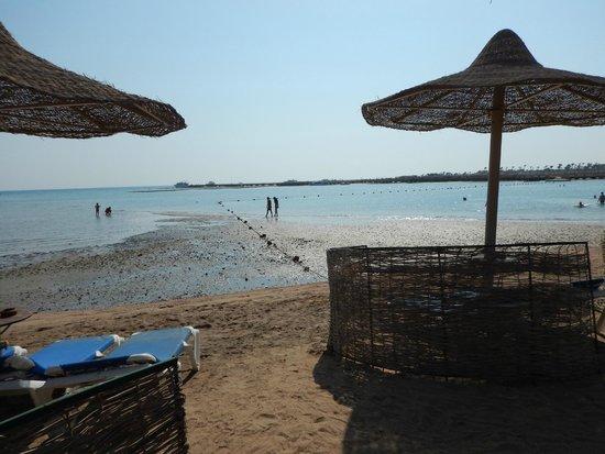 SENTIDO Mamlouk Palace Resort: Tide Out