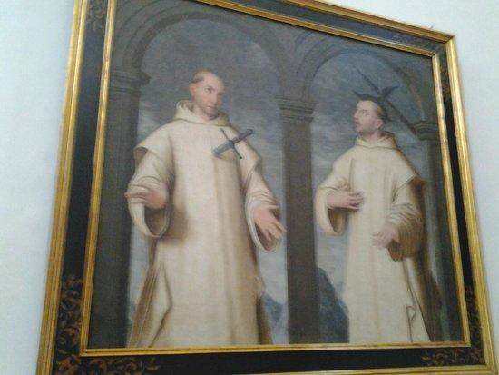 Monasterio Cartuja: Esto es lo que pasa por jugar con hachas y cuchillos, y no tener cuidadín.