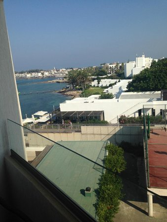 Alexander The Great Beach Hotel : Side sea view