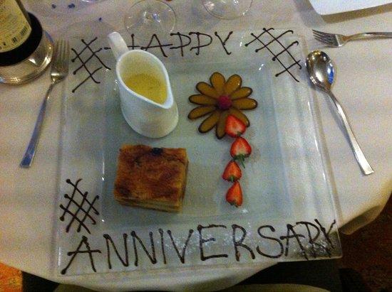 The Borrowdale Gates Hotel: My dessert