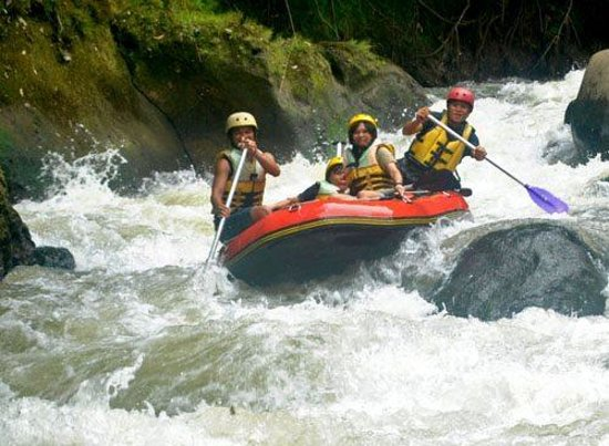 Mountain View Resort & SPA: White water rafting on jungle rivers