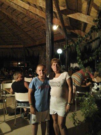 Hammamet Garden Resort & Spa: Derniér soirée
