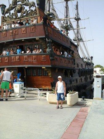 Hammamet Garden Resort & Spa: Bateau Pirate