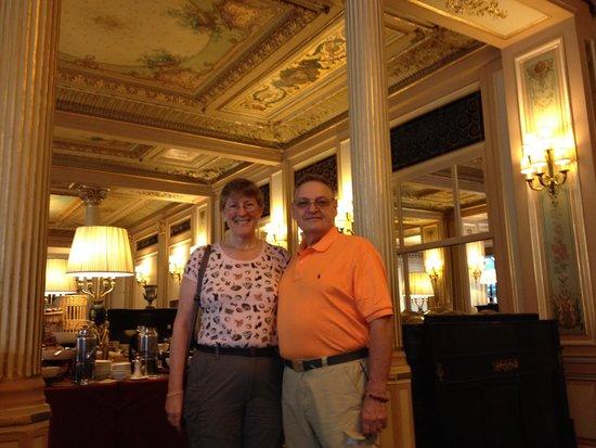 InterContinental Paris Le Grand: Cafe De Prix Hotel Le Grand Opera