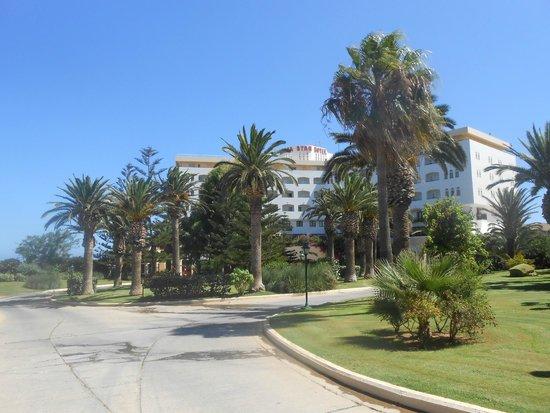 Creta Star Hotel : Entrée de l'hôtel