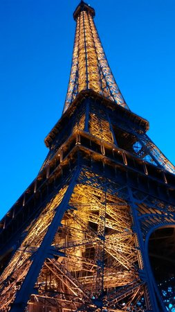 Tour Eiffel : Torre Eiffel iluminada