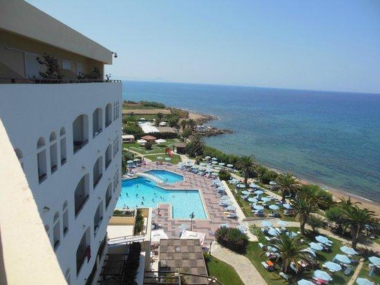 Creta Star Hotel : Vue de la chambre