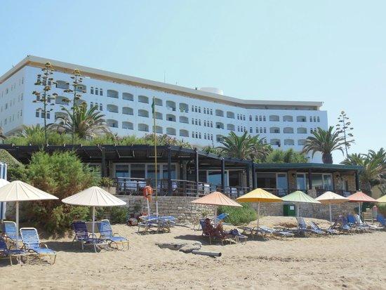 Creta Star Hotel : Vue de la plage
