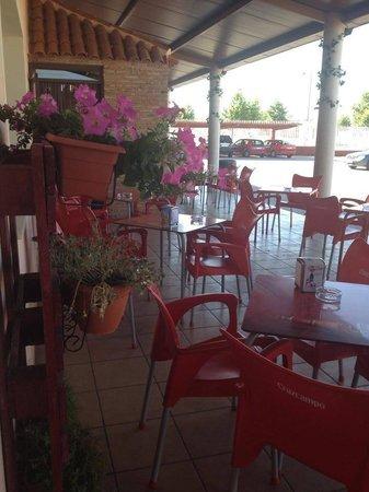 Restaurante Los Viñedos: Terraza