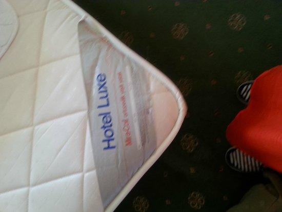 Orient Express Hotel: matelas super confortable