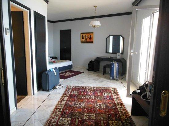 Creta Star Hotel : Vue de la chambre principale