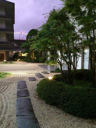 Hotel Sagi no Yu: お庭