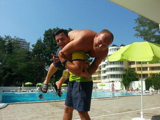 Hotel Mercury : Tihomir und Andreas