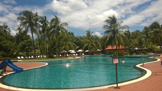 Sofitel Angkor Phokeethra Golf and Spa Resort : Pool area