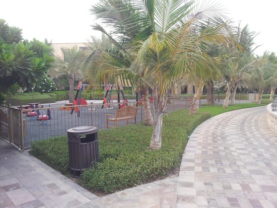 Traders Hotel, Qaryat Al Beri, Abu Dhabi: Playground by the beach.