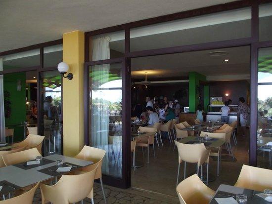 Hotel Conte di Cabrera : ristorante con terrazza
