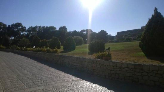 Hotel Conte di Cabrera : i viali interni