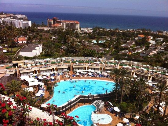 Gloria Palace San Agustín Thalasso & Hotel : desde mi habitación...