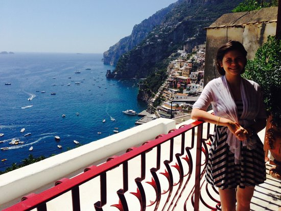 Hotel Eden Roc : Arrival in Positano, view from room