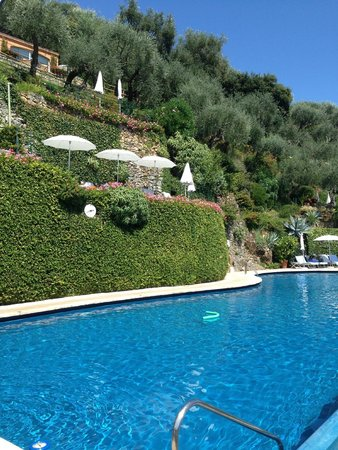 Belmond Hotel Splendido: Pool and Higher Level Lounge Areas