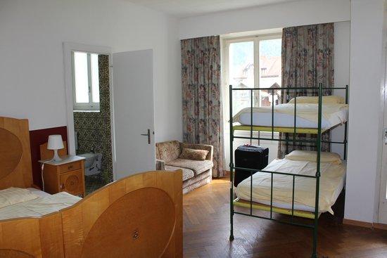 Funny Farm Hotel: Dorm room