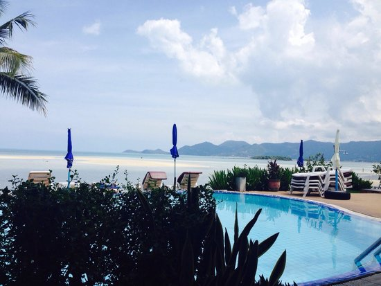 Samui Island Beach Resort and Hotel: View from restaurant!