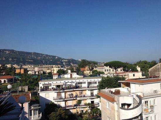 Hotel Caravel Sorrento: view from our room
